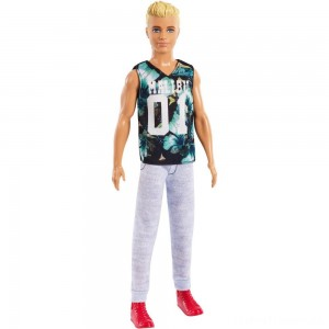 Barbie Ken Fashionistas Doll - Game Sunday Clearance Sale