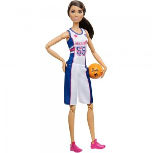 Barbie Made to Move Basketball Player Doll Clearance Sale