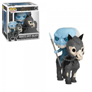Funko POP! Rides: Game of Thrones - White Walker on Horse Clearance Sale