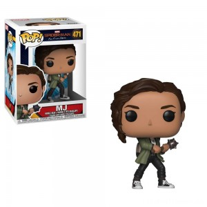 Funko POP! Marvel: Spider-Man: Far From Home - MJ Clearance Sale