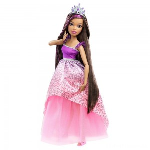 "Barbie Dreamtopia Princess 17"" Nikki Doll Clearance Sale"