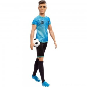 Barbie Ken Career Soccer Player Doll Clearance Sale