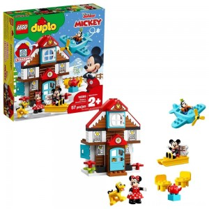 LEGO DUPLO Disney Mickey's Vacation House 10889 Toddler Building Set with Minnie Mouse Clearance Sale