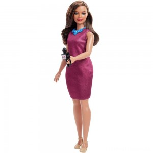 Barbie Careers 60th Anniversary News Anchor Doll Clearance Sale