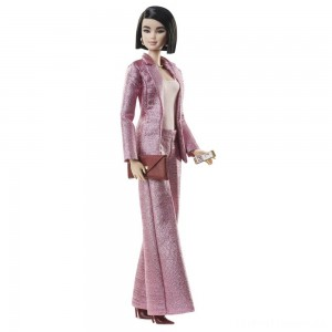 Barbie Signature Styled By Chriselle Lim Collector Doll in in Pink Pant Suit Clearance Sale