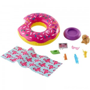 Barbie Donut Floaty Accessory Clearance Sale