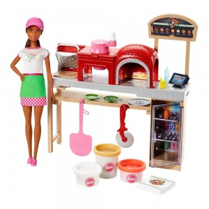 Barbie Careers Pizza Chef Nikki Doll and Playset Clearance Sale