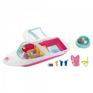 Barbie Dolphin Magic Ocean View Boat Clearance Sale