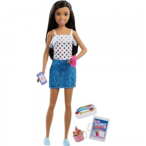 Barbie Skipper Babysitters Inc. Black Hair Doll Playset Clearance Sale
