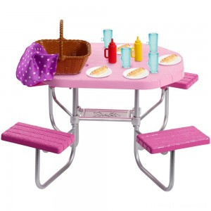 Barbie Picnic Table Accessory Clearance Sale