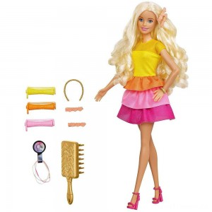 Barbie Ultimate Curls Doll and Playset Clearance Sale