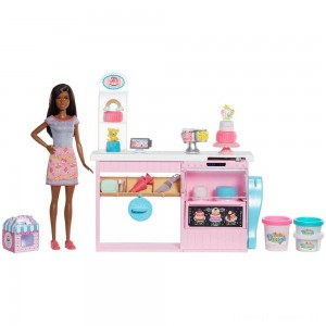 Barbie Cake Bakery Playset Clearance Sale