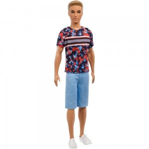 Barbie Ken Fashionistas Doll - Hyper Print Clearance Sale