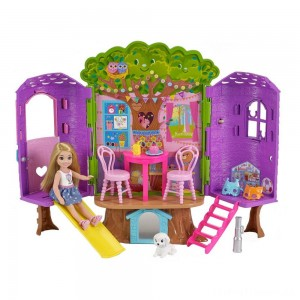 Barbie Chelsea Doll and Treehouse Playset Clearance Sale