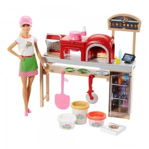 Barbie Careers Pizza Chef Doll and Playset Clearance Sale