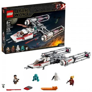 LEGO Star Wars: The Rise of Skywalker Resistance Y-Wing Starfighter 75249 New Advanced Collectible Starship Model Building Kit 578pc Clearance Sale