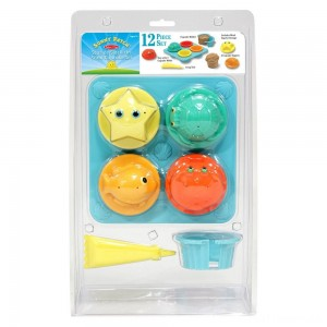 Melissa & Doug Sunny Patch Seaside Sidekicks Sand Cupcake Play Set Clearance Sale