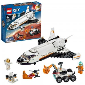 LEGO City Space Mars Research Shuttle 60226 Space Shuttle Toy Building Kit with Mars Rover Clearance Sale