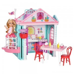 Barbie Club Chelsea Doll and Playhouse Clearance Sale
