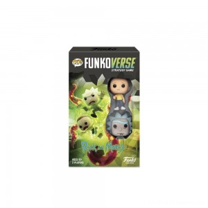 Funkoverse Board Game: Rick and Morty #100 Expandalone, Adult Unisex Clearance Sale