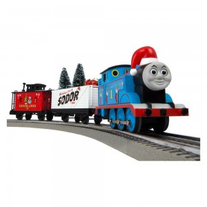 Lionel Thomas & Friends Christmas Freight LionChief Train Set with Bluetooth Clearance Sale