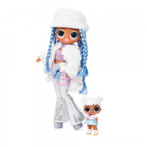 L.O.L. Surprise! O.M.G. Winter Disco Snowlicious Fashion Doll & Sister Clearance Sale
