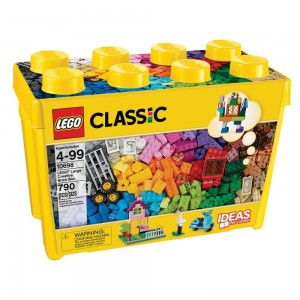 LEGO Classic Large Creative Brick Box 10698 Build Your Own Creative Toys, Kids Building Kit Clearance Sale