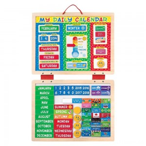 Melissa & Doug My First Daily Magnetic Calendar Clearance Sale