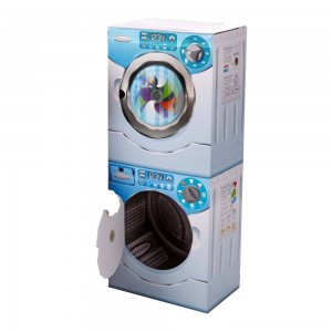 Melissa & Doug Washer/Dryer Combo Cardboard Play Set Clearance Sale