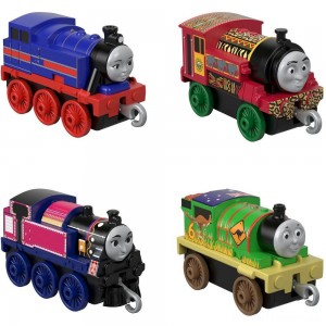 Fisher-Price Thomas & Friends Around the World Push Along 4pk Clearance Sale