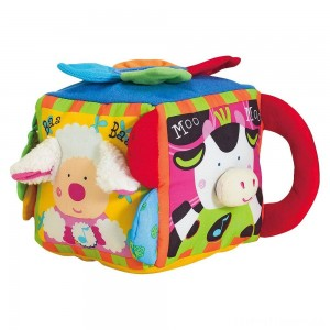 Melissa & Doug K's Kids Musical Farmyard Cube Educational Baby Toy Clearance Sale