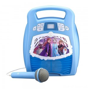 Disney Frozen 2 MP3 Karaoke Light Show with Microphone Clearance Sale