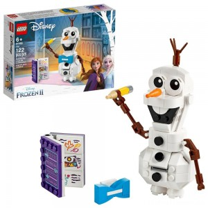 LEGO Disney Frozen 2 Olaf 41169 Olaf Snowman Toy Figure Building Kit 122pc Clearance Sale