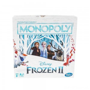 Monopoly Game: Disney Frozen 2 Edition Board Game Clearance Sale