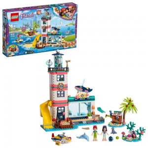 LEGO Friends Lighthouse Rescue Center 41380 Building Kit with Mini Dolls and Toy Animals 602pc Clearance Sale