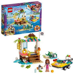 LEGO Friends Turtles Rescue Mission 41376 Building Kit Includes Toy Vehicle and Clinic 225pc Clearance Sale