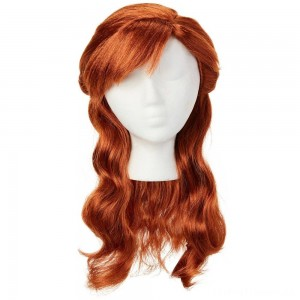 Disney Frozen 2 Anna Wig, Red Clearance Sale