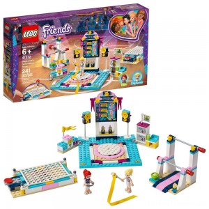 LEGO Friends Stephanie's Gymnastics Show 41372 Building Set with Gymnastics Toys 241pc Clearance Sale