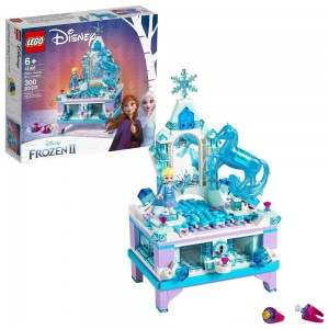LEGO Disney Princess Frozen 2 Elsa's Jewelry Box Creation 41168 Disney Jewelry Box Building Kit 300pc Clearance Sale