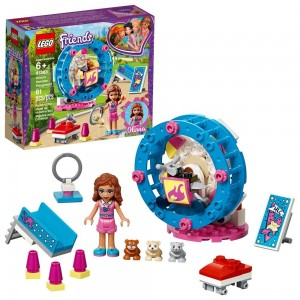LEGO Friends Olivia's Hamster Playground 41383 Clearance Sale
