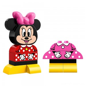 LEGO DUPLO Minnie Mouse My First Minnie Build 10897 Clearance Sale