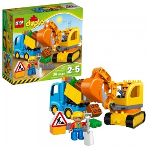 LEGO DUPLO Truck & Tracked Excavator 10812 Clearance Sale