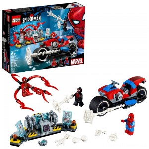 LEGO Super Heroes Marvel Spider-Man Bike Rescue 76113 Clearance Sale