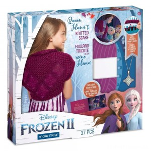 Disney Frozen 2 Queen Iduna's Knitted Shawl Clearance Sale