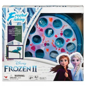 Disney Frozen 2 Frosted Fishing Board Game, Kids Unisex Clearance Sale