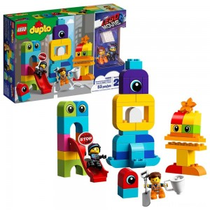 THE LEGO MOVIE 2 Emmet and Lucy's Visitors from the DUPLO 10895 Clearance Sale
