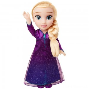 Disney Frozen 2 Into The Unknown Singing Feature Elsa Doll Clearance Sale