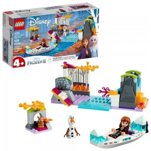 LEGO Disney Princess Frozen 2 Anna's Canoe Expedition 41165 Frozen Adventure Easy Building Kit 108pc Clearance Sale