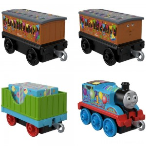 Fisher-Price Thomas & Friends Celebration Time Push Along 4pk Clearance Sale