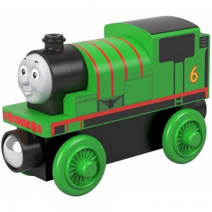 Fisher-Price Thomas & Friends Wood Percy Engine Clearance Sale
